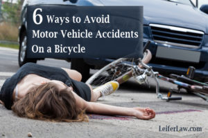 Motor Vehicle Accidents On a Bicycle