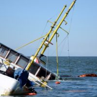 Boat Accident Goes Overboard