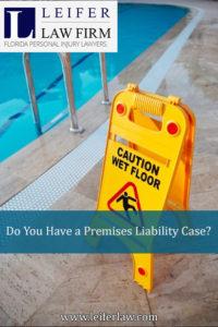 Premises Liability Case