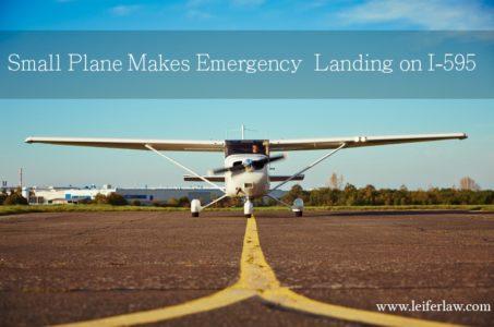 Emergency Landing on I-595