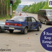 Fire Extinguisher in Your Car