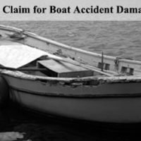 Boat Accident Damage in Florida