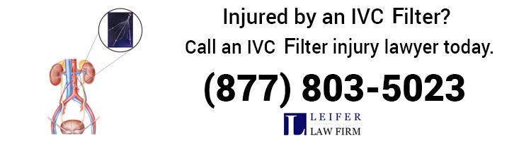 Leifer- IVC Filter Injury Lawyer