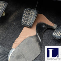 Shoes Cause Car Accident