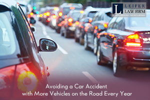 Avoiding a Car Accident with More Vehicles on the Road Every Year