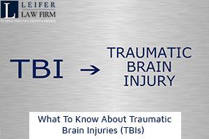 Traumatic Brain Injuries (TBIs)