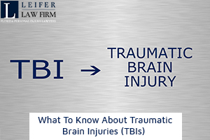 What To Know About Traumatic Brain Injuries (TBIs)