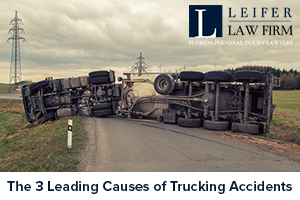 The 3 Leading Causes of Trucking Accidents