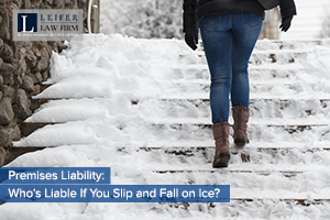 Premises Liability: Who's Liable If You Slip and Fall on Ice?