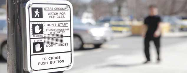 pedestrian crosswalk button