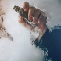 Vape smoke cloud